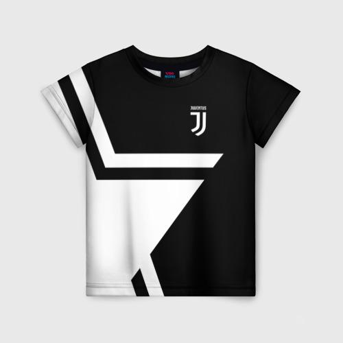 Детская футболка 3D Juventus 2018 STAR