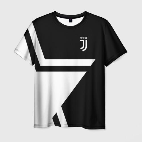 Мужская футболка 3D Juventus 2018 STAR