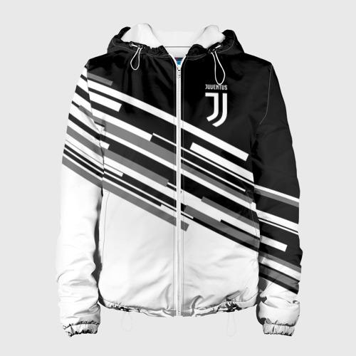 Женская куртка 3D JUVENTUS STRIPES STYLE