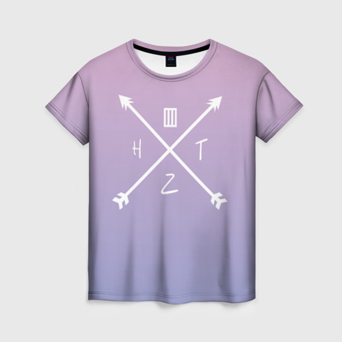Женская футболка 3D Paramore