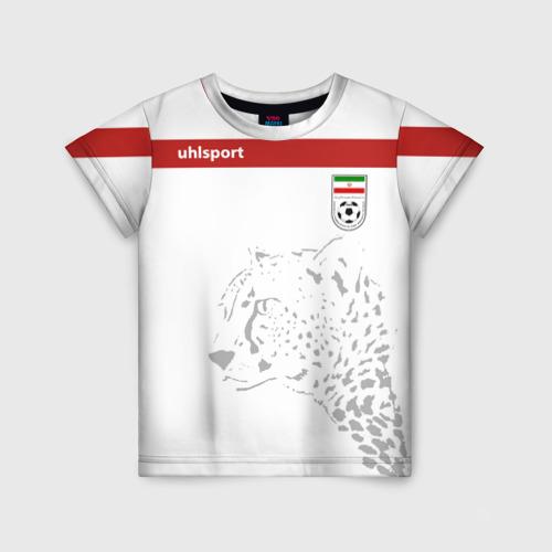 Детская футболка 3D Иран, форма