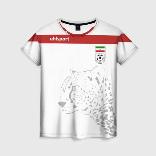 Женская футболка 3D Иран, форма