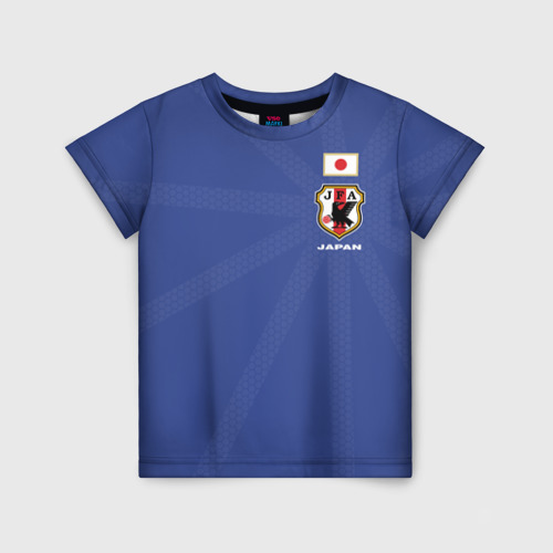Детская футболка 3D Япония, форма