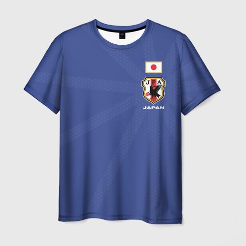 Мужская футболка 3D Япония, форма