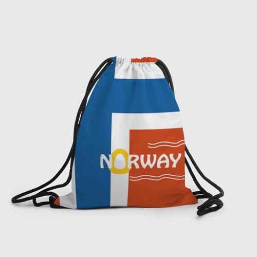 Рюкзак-мешок 3D Норвегия