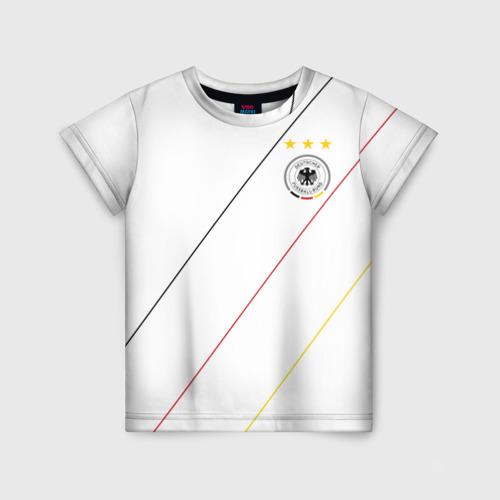 Детская футболка 3D Германия, форма