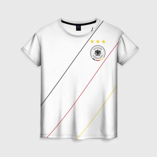 Женская футболка 3D Германия, форма