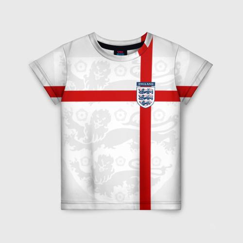 Детская футболка 3D Англия, форма