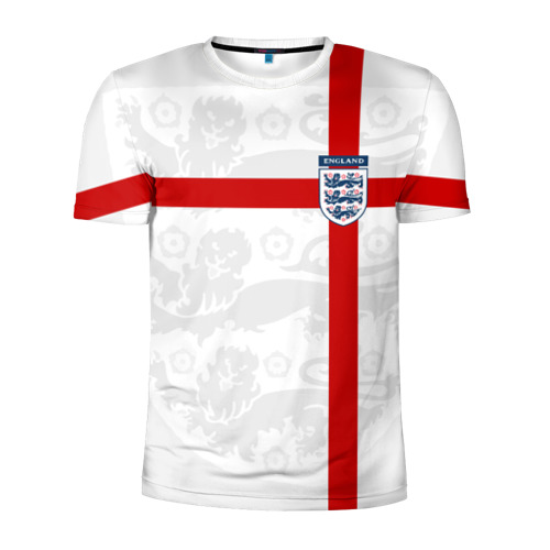 Мужская футболка 3D спортивная Англия, форма