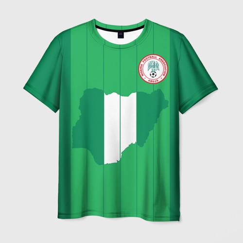 Мужская футболка 3D Нигерия, форма