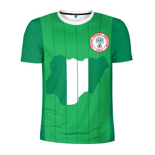 Мужская футболка 3D спортивная Нигерия, форма