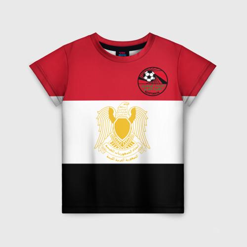 Детская футболка 3D Египет, форма