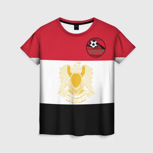 Женская футболка 3D Египет, форма