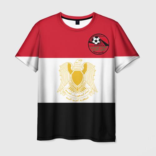 Мужская футболка 3D Египет, форма