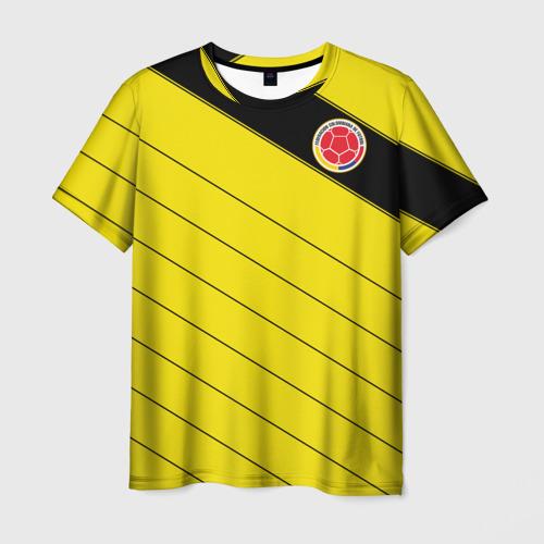 Мужская футболка 3D Колумбия, форма
