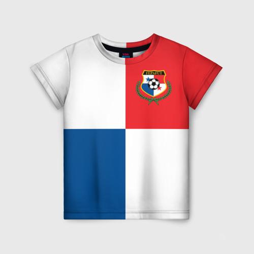 Детская футболка 3D Панама, форма