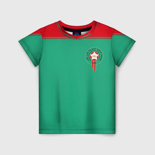 Детская футболка 3D Марокко, форма