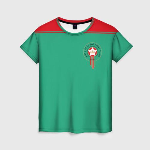 Женская футболка 3D Марокко, форма