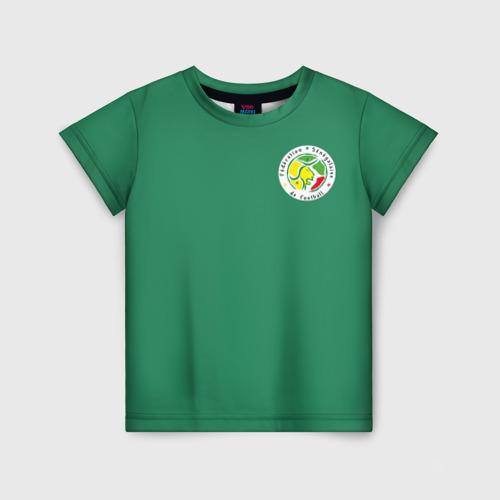 Детская футболка 3D Сенегал, форма