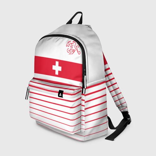 Рюкзак 3D Швейцария, форма