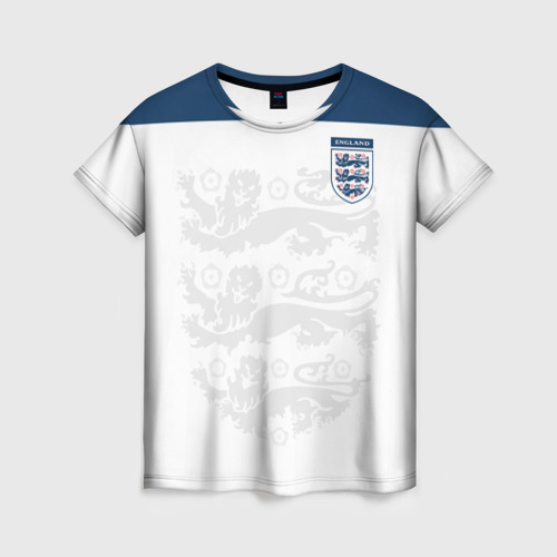 Женская футболка 3D Англия, форма