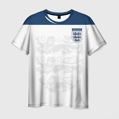 Мужская футболка 3D Англия, форма