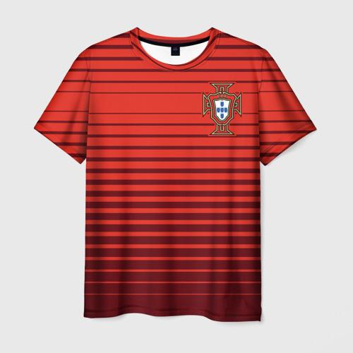 Мужская футболка 3D Португалия, форма