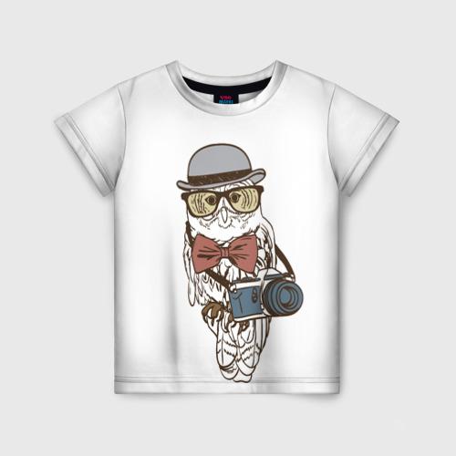 Детская футболка 3D Фотограф