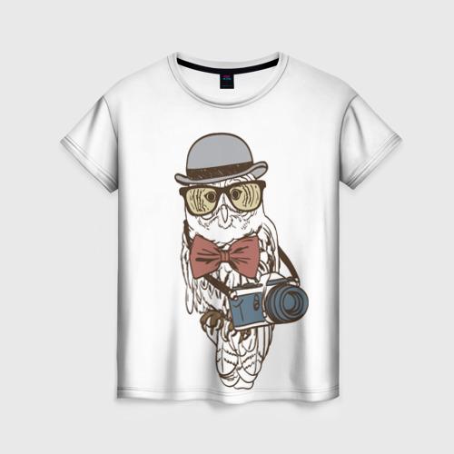 Женская футболка 3D Фотограф
