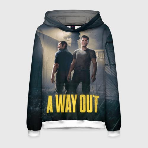 Мужская толстовка 3D A Way Out
