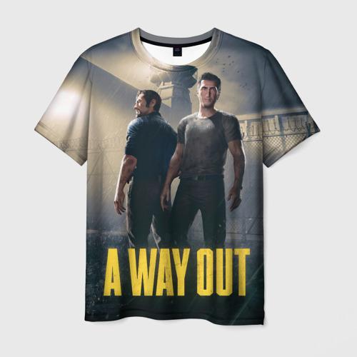 Мужская футболка 3D A Way Out