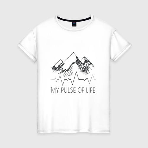Женская футболка хлопок альпинизм