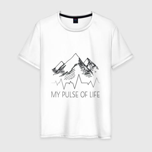 Мужская футболка хлопок альпинизм