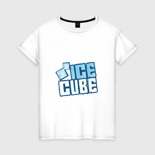 Женская футболка хлопок Ice Cube