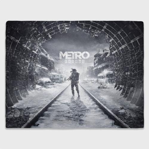 Плед 3D METRO: Exodus