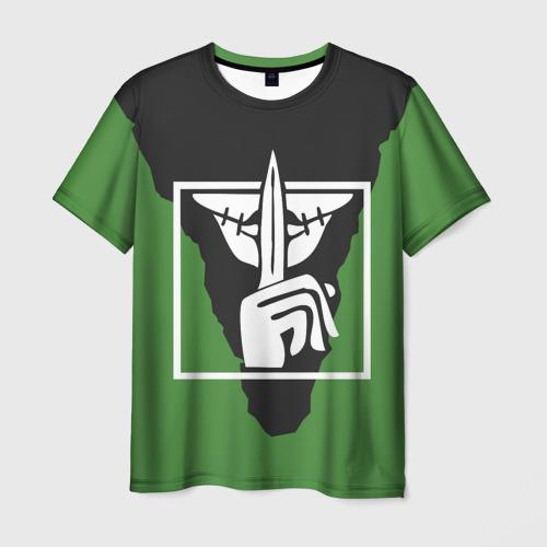 Мужская футболка 3D RAINBOW SIX SIEGE   РАДУГА 6 ОСАДА VALKYRIE