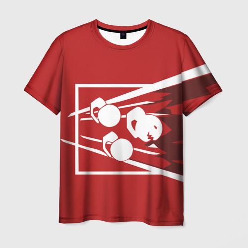Мужская футболка 3D RAINBOW SIX SIEGE FUZE
