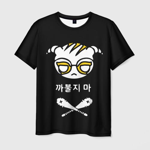 Мужская футболка 3D RAINBOW SIX SIEGE   РАДУГА 6 ОСАДА   R6S DOKKAEBI