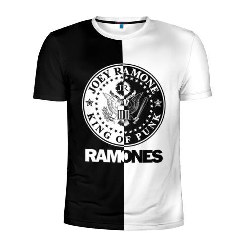 Мужская футболка 3D спортивная Ramones