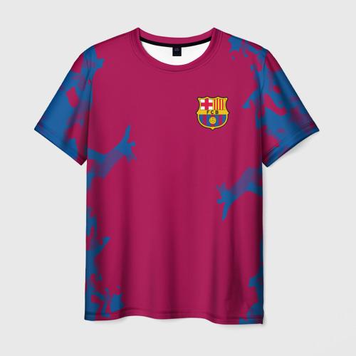 Мужская футболка 3D FC Barca 2018 Original