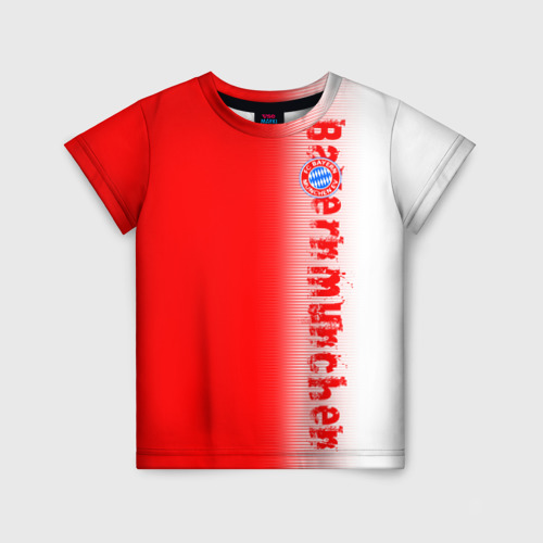 Детская футболка 3D FC Bayern 2018 Original
