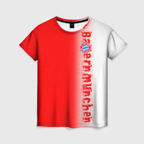 Женская футболка 3D FC Bayern 2018 Original