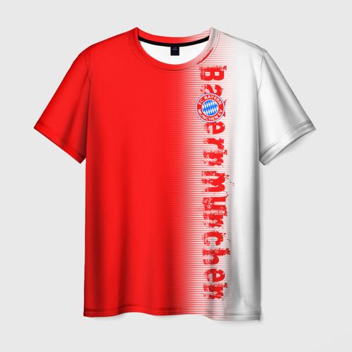 Мужская футболка 3D FC Bayern 2018 Original