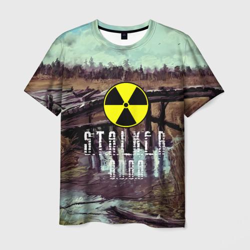 Мужская футболка 3D S.T.A.L.K.E.R ВОВА