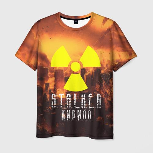 Мужская футболка 3D S.T.A.L.K.E.R Кирилл