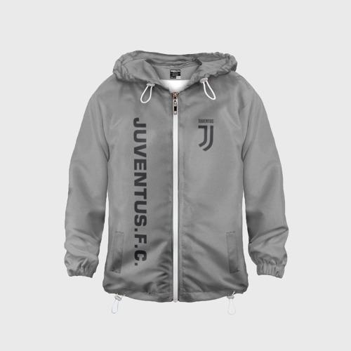 Детская ветровка 3D Juventus 2018 Vintage