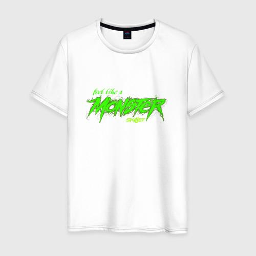 Мужская футболка хлопок Like a Monster