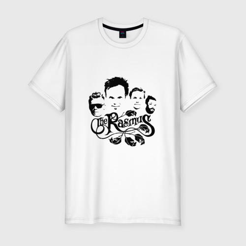 Мужская футболка хлопок Slim Группа The Rasmus