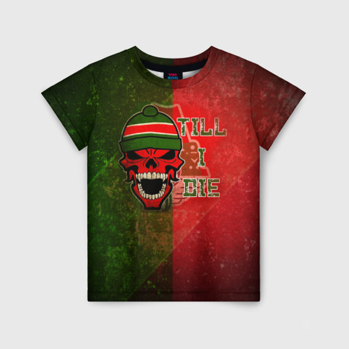Детская футболка 3D Локомотив