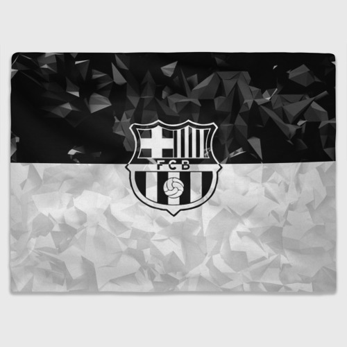 Плед 3D FC Barca Black Collection